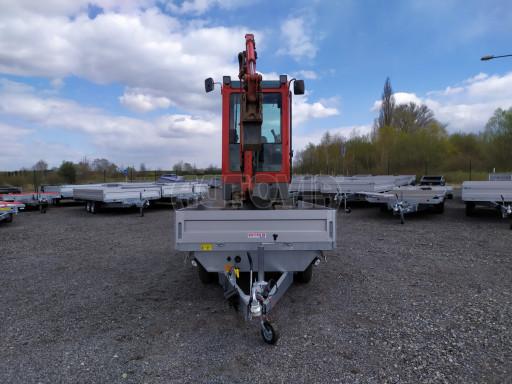 Sklápěcí přívěsný vozík ATS 3SKS 2,7T 3,32x1,70/0,35 ECO el** č.30
