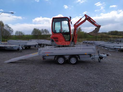 Sklápěcí přívěsný vozík ATS 3SKS 2,7T 3,32x1,70/0,35 ECO el** č.32