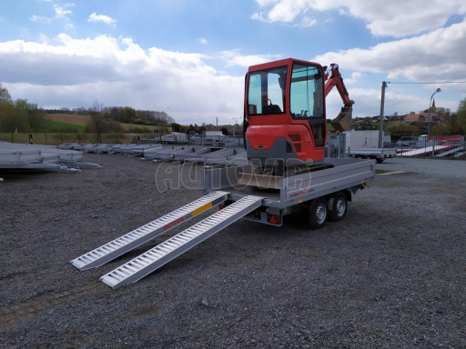 Sklápěcí přívěsný vozík ATS 3SKS 2,7T 3,32x1,70/0,35 ECO el** č.33