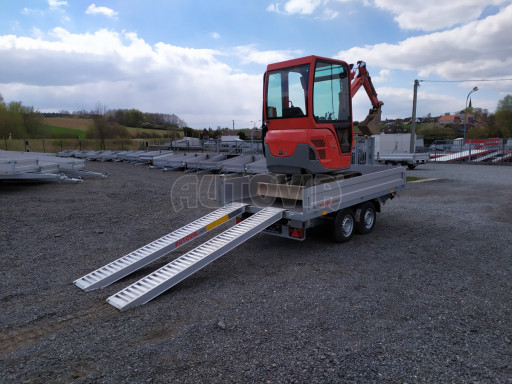 Sklápěcí přívěsný vozík ATS 3SKS 2,7T 3,32x1,70/0,35 ECO el** č.5