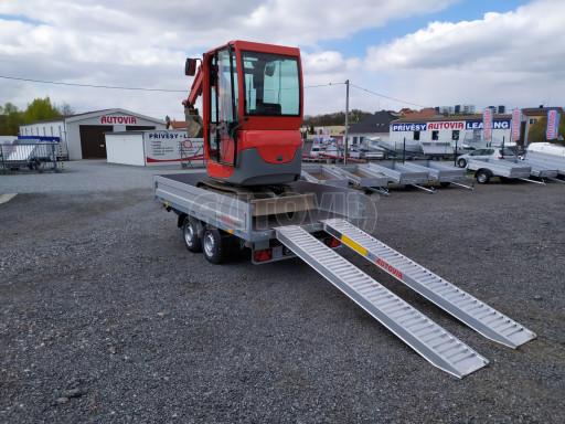 Sklápěcí přívěsný vozík ATS 3SKS 2,7T 3,32x1,70/0,35 ECO el** č.35