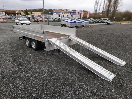 Přívěsný vozík ZV 32 2,0T B2 3,00x1,80/0,35** č.1