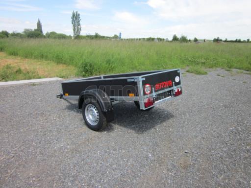 Přívěsný vozík za osobní auto PV 750kg N1 EK 2,16x1,15/0,30* č.8