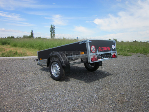 Přívěsný vozík za osobní auto PV 750kg N1 EK 2,16x1,15/0,30* č.9
