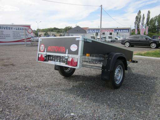 Přívěsný vozík za osobní auto PV 750kg N1 EK 2,16x1,15/0,30* č.11