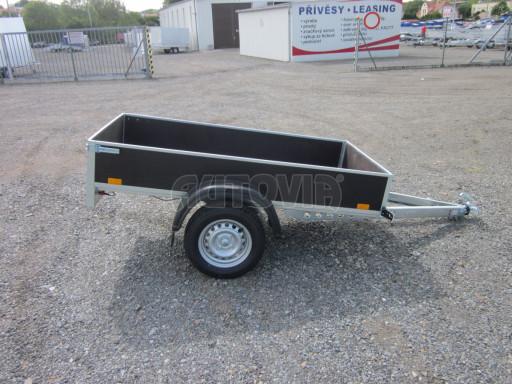 Přívěsný vozík za osobní auto PV 750kg N1 EK 2,16x1,15/0,30* č.12