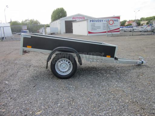 Přívěsný vozík za osobní auto PV 750kg N1 EK 2,16x1,15/0,30* č.13