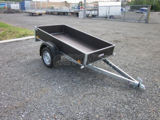 Přívěsný vozík za osobní auto PV 750kg N1 EK 2,16x1,15/0,30* č.1