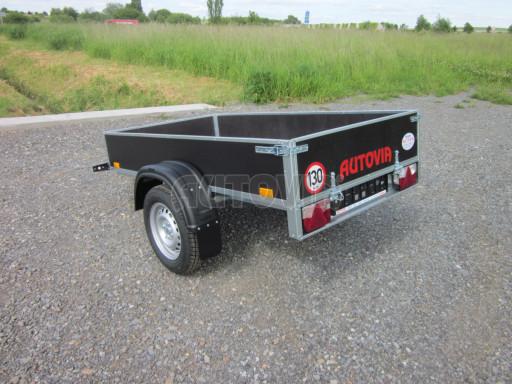 Přívěsný vozík za osobní auto PV 750kg N1 EK 2,16x1,15/0,30* č.2