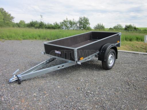 Přívěsný vozík za osobní auto PV 750kg N1 EK 2,16x1,15/0,30* č.15