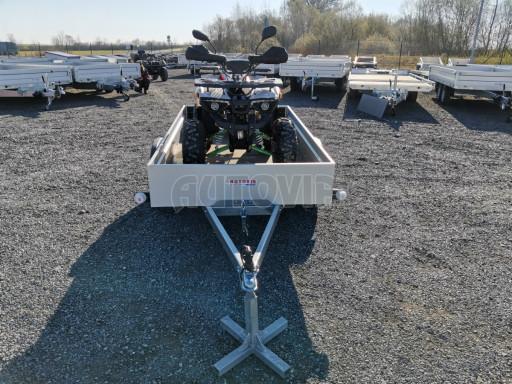 Sklopný přívěsný vozík za osobní auto HD 28 skl 2,27x1,25/0,30 č.25