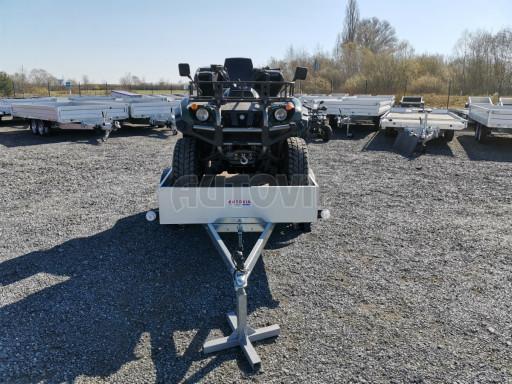 Sklopný přívěsný vozík za osobní auto HD 28 skl 2,27x1,25/0,30 č.26