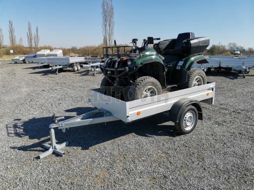 Sklopný přívěsný vozík za osobní auto HD 28 skl 2,27x1,25/0,30 č.7
