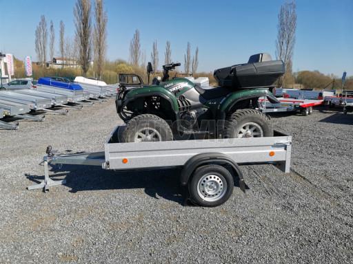 Sklopný přívěsný vozík za osobní auto HD 28 skl 2,27x1,25/0,30 č.27