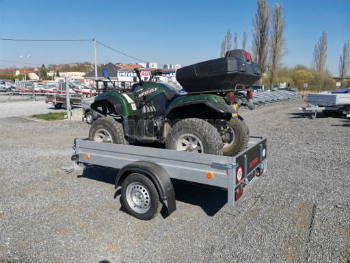 Sklopný přívěsný vozík za osobní auto HD 28 skl 2,27x1,25/0,30 č.5
