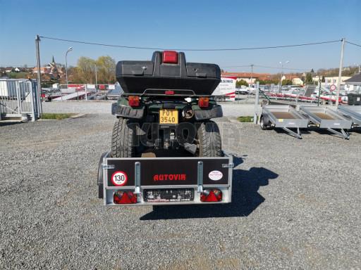Sklopný přívěsný vozík za osobní auto HD 28 skl 2,27x1,25/0,30 č.28