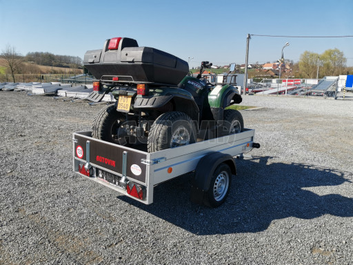 Sklopný přívěsný vozík za osobní auto HD 28 skl 2,27x1,25/0,30 č.8