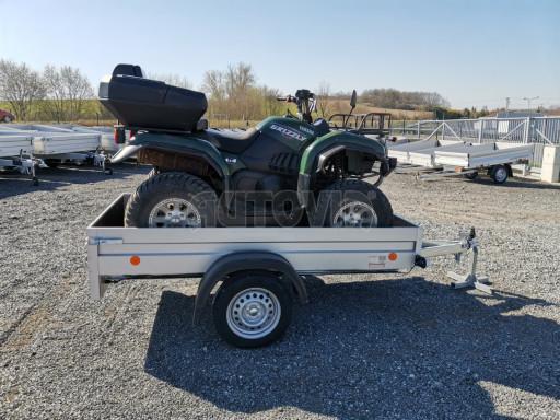 Sklopný přívěsný vozík za osobní auto HD 28 skl 2,27x1,25/0,30 č.29