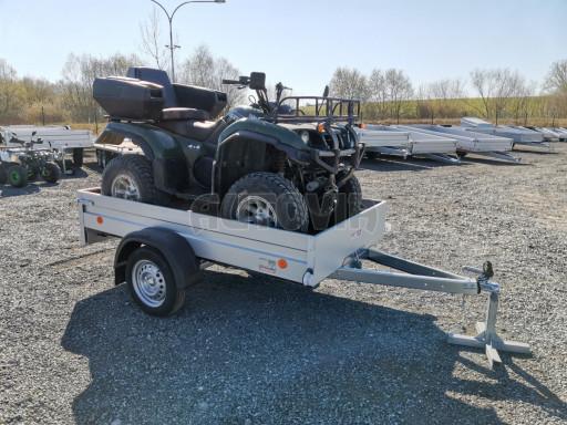 Sklopný přívěsný vozík za osobní auto HD 28 skl 2,27x1,25/0,30 č.30