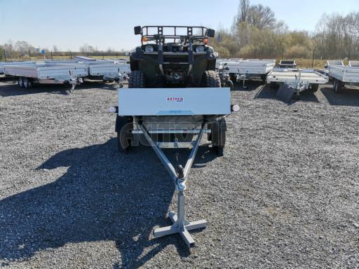 Sklopný přívěsný vozík za osobní auto HD 28 skl 2,27x1,25/0,30 č.31