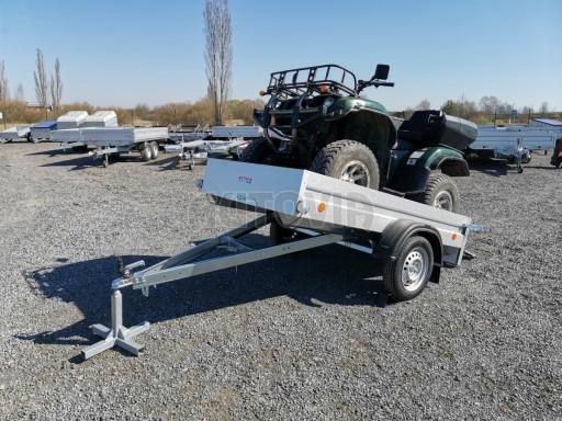 Sklopný přívěsný vozík za osobní auto HD 28 skl 2,27x1,25/0,30 č.2