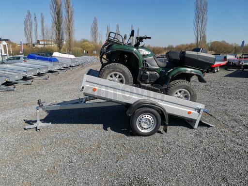 Sklopný přívěsný vozík za osobní auto HD 28 skl 2,27x1,25/0,30 č.4