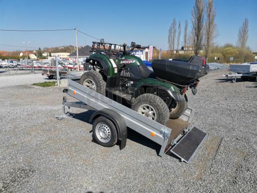 Sklopný přívěsný vozík za osobní auto HD 28 skl 2,27x1,25/0,30 č.1