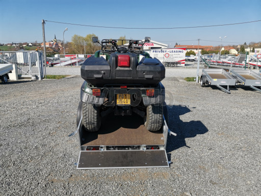 Sklopný přívěsný vozík za osobní auto HD 28 skl 2,27x1,25/0,30 č.32