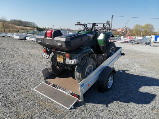 Sklopný přívěsný vozík za osobní auto HD 28 skl 2,27x1,25/0,30 č.33