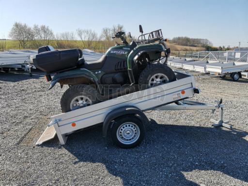 Sklopný přívěsný vozík za osobní auto HD 28 skl 2,27x1,25/0,30 č.3