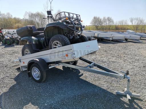 Sklopný přívěsný vozík za osobní auto HD 28 skl 2,27x1,25/0,30 č.34