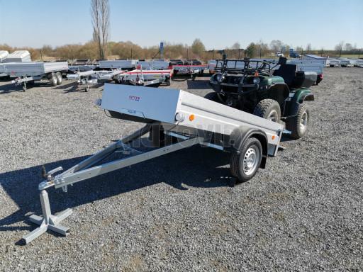 Sklopný přívěsný vozík za osobní auto HD 28 skl 2,27x1,25/0,30 č.36