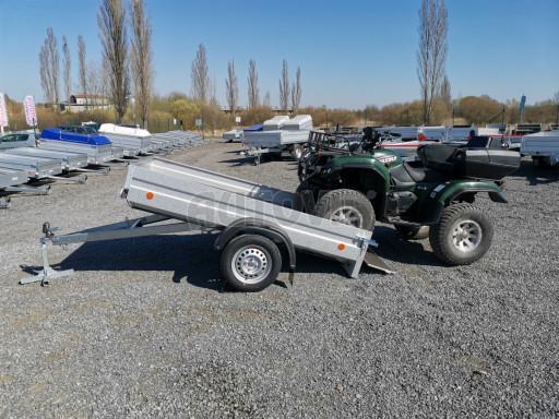 Sklopný přívěsný vozík za osobní auto HD 28 skl 2,27x1,25/0,30 č.37