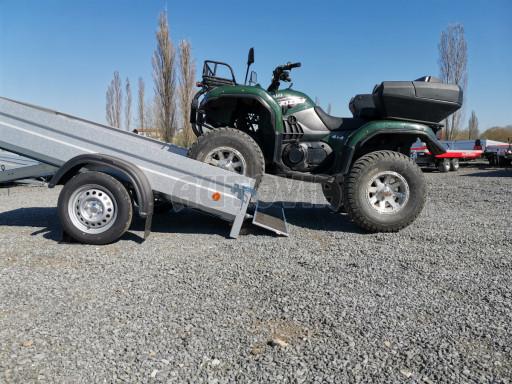 Sklopný přívěsný vozík za osobní auto HD 28 skl 2,27x1,25/0,30 č.38