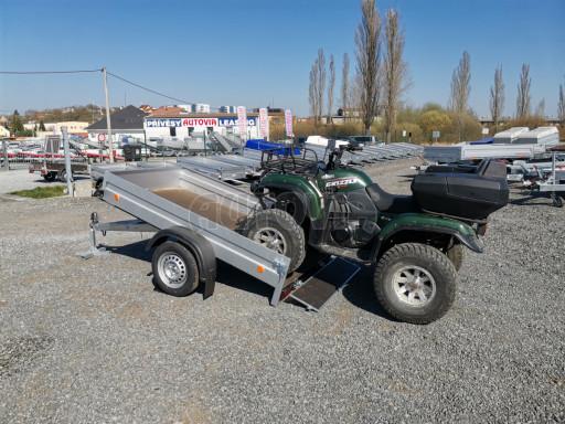 Sklopný přívěsný vozík za osobní auto HD 28 skl 2,27x1,25/0,30 č.6