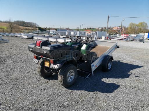 Sklopný přívěsný vozík za osobní auto HD 28 skl 2,27x1,25/0,30 č.39