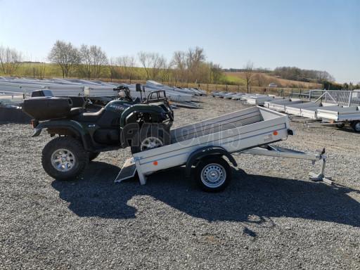 Sklopný přívěsný vozík za osobní auto HD 28 skl 2,27x1,25/0,30 č.40
