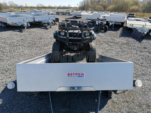 Sklopný přívěsný vozík za osobní auto HD 28 skl 2,27x1,25/0,30 č.42