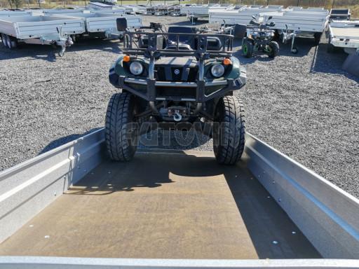 Sklopný přívěsný vozík za osobní auto HD 28 skl 2,27x1,25/0,30 č.43