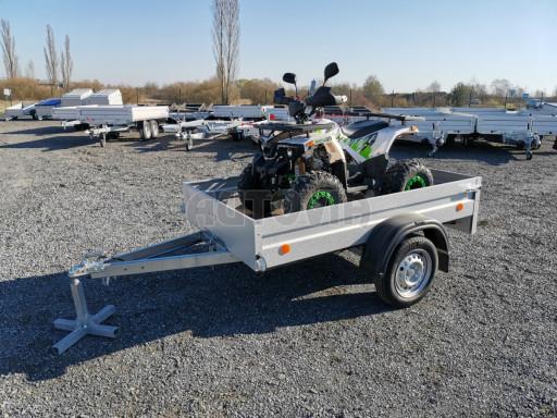 Sklopný přívěsný vozík za osobní auto HD 27 skl 2,06x1,25/0,30 č.19