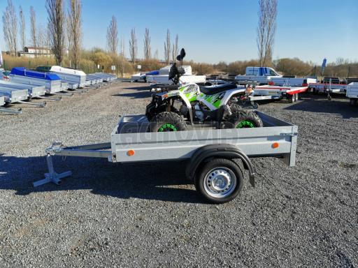 Sklopný přívěsný vozík za osobní auto HD 27 skl 2,06x1,25/0,30 č.20