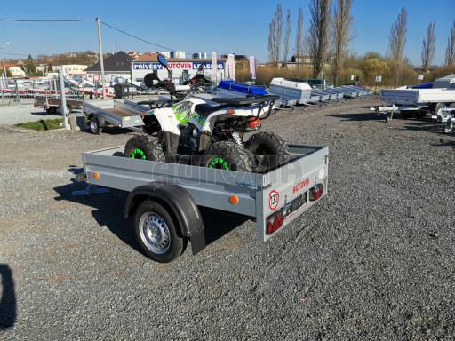 Sklopný přívěsný vozík za osobní auto HD 27 skl 2,06x1,25/0,30 č.21