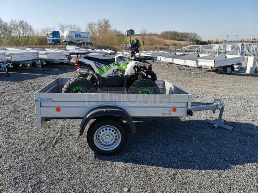 Sklopný přívěsný vozík za osobní auto HD 27 skl 2,06x1,25/0,30 č.24