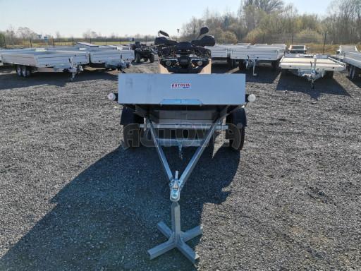 Sklopný přívěsný vozík za osobní auto HD 27 skl 2,06x1,25/0,30 č.26