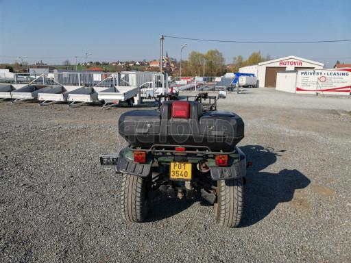 Jednoosý nebrzděný hydraulicky sklopný přívěs HS 750kg N1 2,55x1,26/0,10 ruč ECO č.42