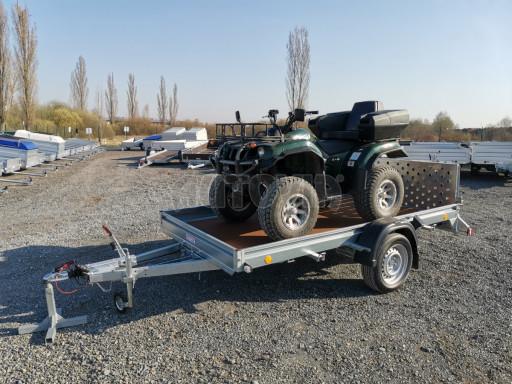 Sklopný přívěs za osobní auto PZ 1,3T 3,00x1,65 skl č.30