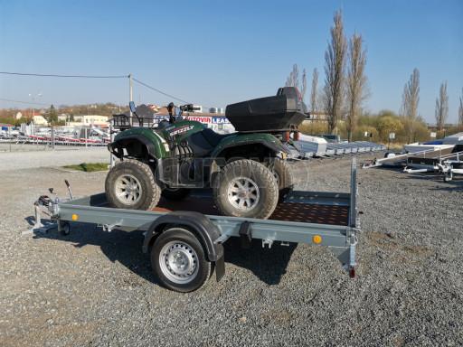 Sklopný přívěs za osobní auto PZ 1,3T 3,00x1,65 skl č.32