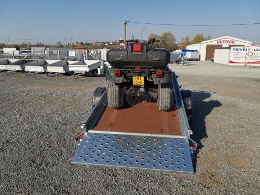 Sklopný přívěs za osobní auto PZ 1,3T 3,00x1,65 skl č.39