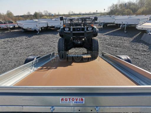 Sklopný přívěs za osobní auto PZ 1,3T 3,00x1,65 skl č.44