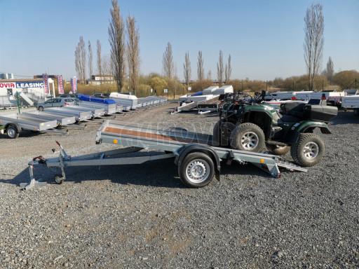 Sklopný přívěs za osobní auto PZ 1,3T 3,00x1,65 skl č.46